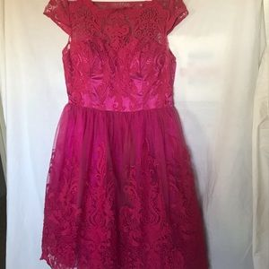 CHI CHI LONDON Pink Full skirt A-line Pinup Prom